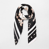 Silk Satin Handmade Silk Scarf for Women