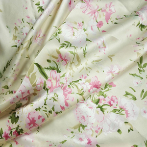 Washable Silk Satin Fabric Price by The Yard