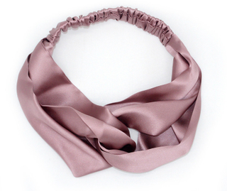 Silk Plain Satin Headbands for Long Hair
