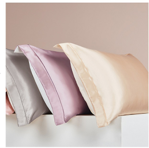 19/22/25momme Queen Satin And Pure Silk Pillowcase for Women's Hair And Skin