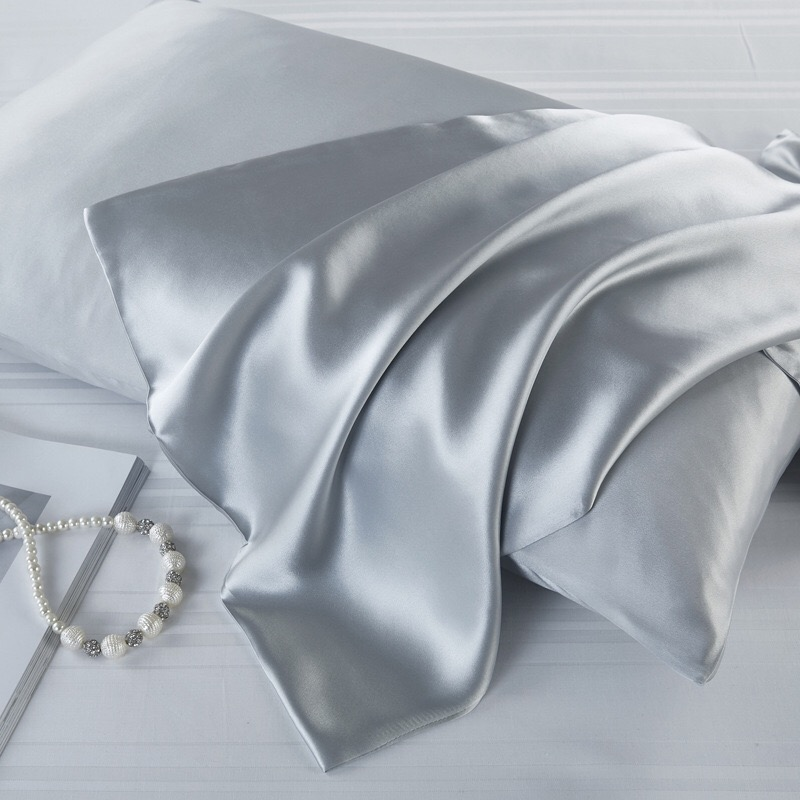 100 Percent Natural Silk Pillowcase for Night Sleeping